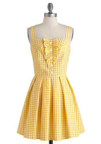 Lemonade to Order Dress