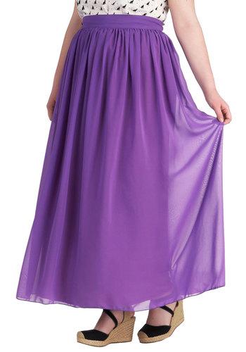 Vignette Again Skirt in Plus Size