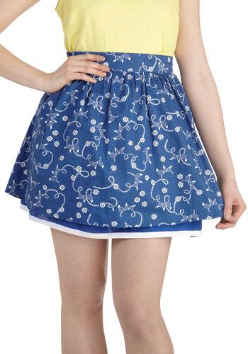 Ahoy, Oh Boy! Skirt