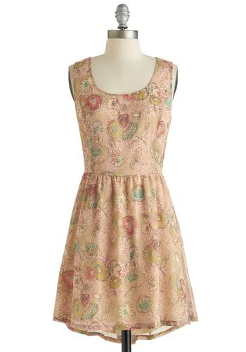Skip to My Doodle Dress
