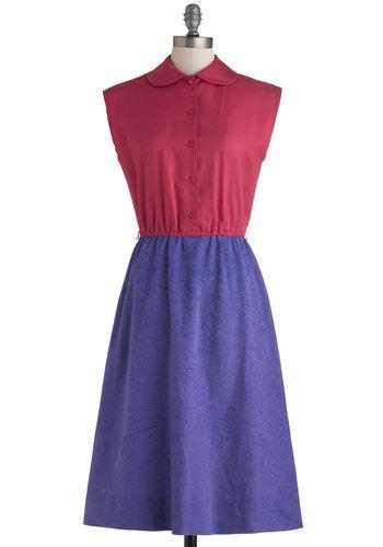 Vintage Bright Flight Dress