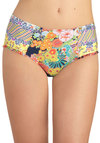 Highway One My Heart Swimsuit Bottom - Multi, Ruffles, Beach/Resort, High Waist, Summer, Print