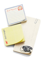 Stand the Desk of Time Sticky Note Set