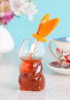 Hop Tea It Honey Pot by Gama-Go - Orange, Kawaii, Good, Wedding