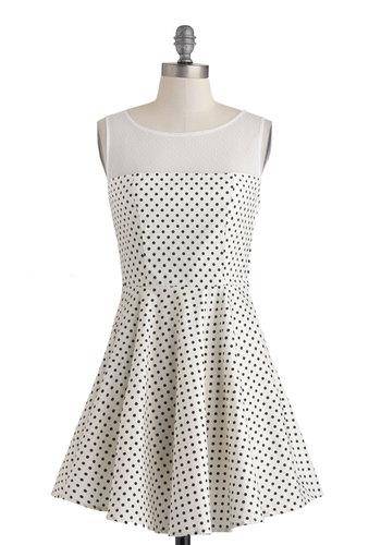 Lindy Dot Dress