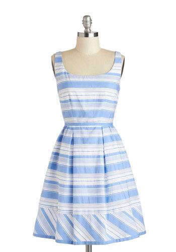 True Blue Sky Dress