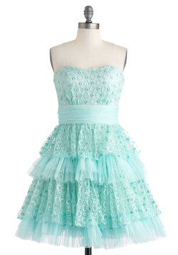 Seafoam and Be Seen Dress