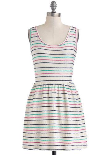Stripe of Good Luck Dress