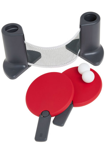 Little Victories Table Tennis Set - Red, Black, Dorm Decor