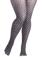 Take It From the Dot Tights in Plus Size