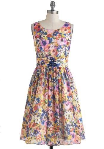 Summer Annuals Dress