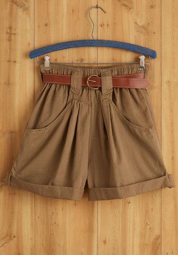 Vintage Glammed Marshal Shorts