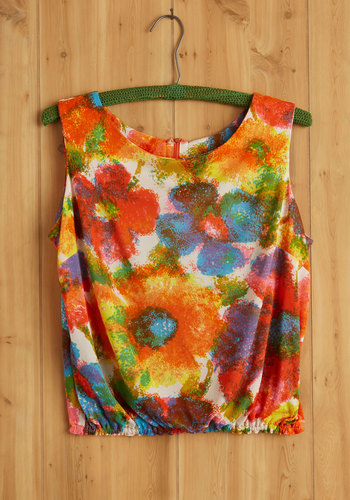 Vintage Meditation Workshop Top