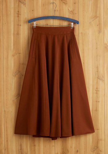 Vintage Brown to Earth Skirt