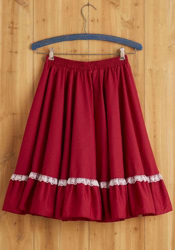Vintage Festiv-all or Nothing Skirt