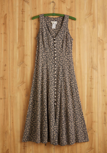 Vintage Forest Frolicking Dress