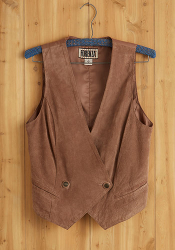 Vintage Played In The Suede Vest