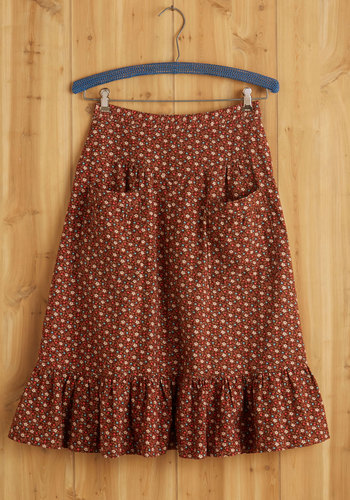Vintage In Your Wilderness Dreams Skirt