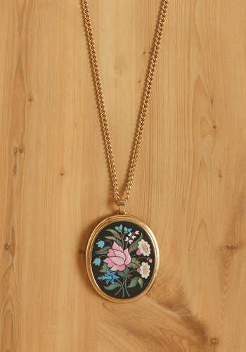 Vintage Flor-all to Enjoy Necklace