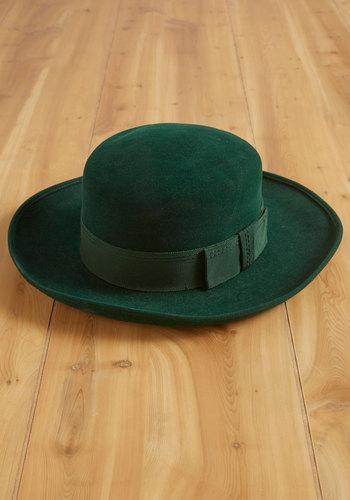 Vintage Forest Stage Hat
