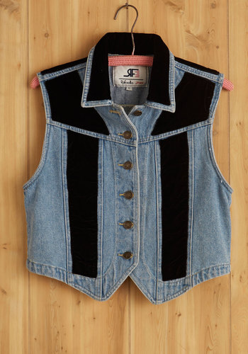 Vintage Perfectly on Keyboard Vest