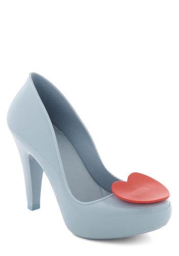 Shoe of Hearts Heel