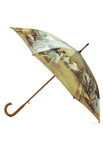 Rainy Degas Umbrella - Multi, Novelty Print, Statement