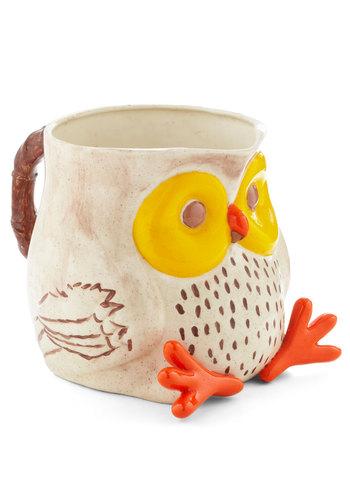 Vintage Owl-y Riser Pitcher