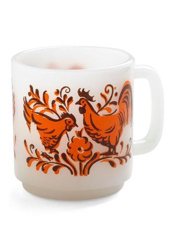 Vintage Sunrise Strut Mug