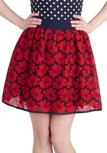 Fancy Flora Skirt