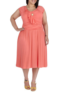 Speech Team Queen Dress in Plus Size