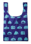 Tote Be or Not To Be Bag by Baggu - Blue, Print, Casual, Eco-Friendly