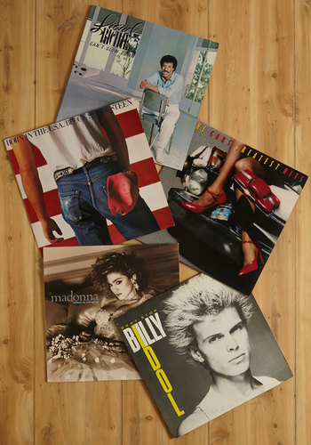 Vintage Hold the Phono LP Set - 80s