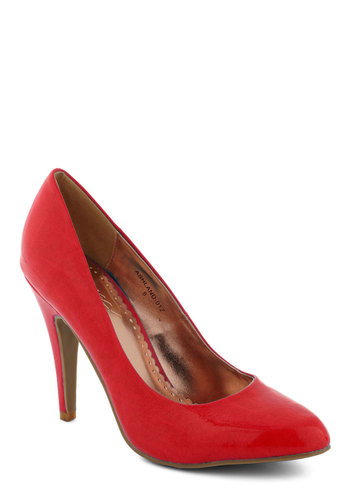 Updating a Classic Heel in Coral