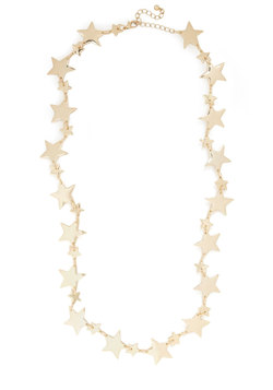 Star Spreading the News Necklace