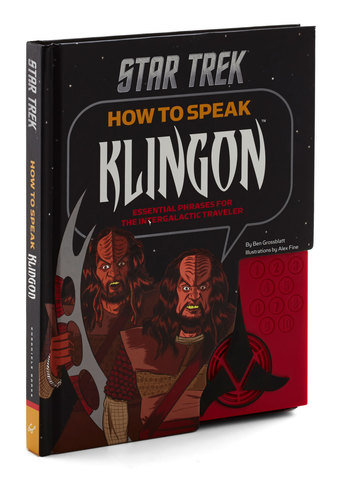 How to Speak Klingon by Chronicle Books - Black, Quirky, Good
