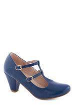 Fluent in Fabulous Heel in Blue