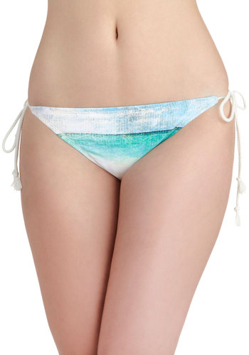 Coastal Cruising Swimsuit Bottom - Multi, Novelty Print, Beach/Resort, Summer