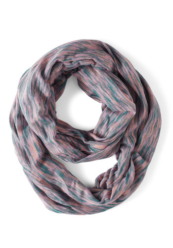Sand Art Gallery Circle Scarf - Multi, Print, Travel