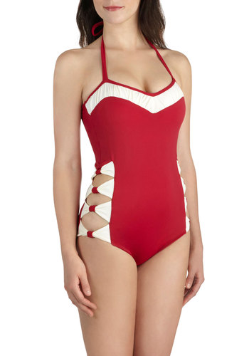 Ties On My Side One Piece Swimsuit