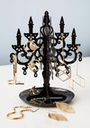 Shadow of a Haute Jewelry Stand - Black, Solid, Vintage Inspired, Dorm Decor, French / Victorian, Good, Halloween