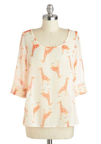 Giraffe-ic Jam Top