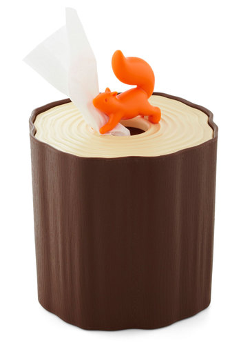 Hiding in Plain Delight Toilet Tissue Box - Brown, Orange, Good