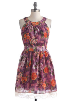 Wing It On Dress in Floral