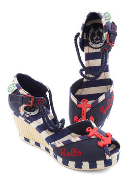 Nautical Smile Wedge