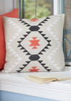 Home Scenic Home Pillow - Tan, Red, Black, Print, Rustic, Better