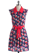 Stop and Smell the Hibiscus Dress