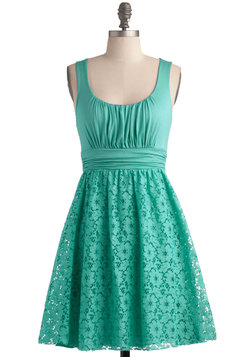 Peppermint Iced Tea Dress