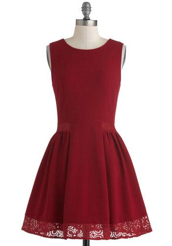 Maraschino Cheery Dress