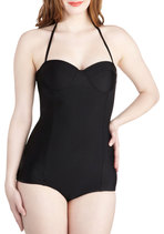 Saved by the Swell One Piece in Black